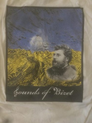 Sounds of Bizet Field Show Shirt 2011 SMHS Marching Band