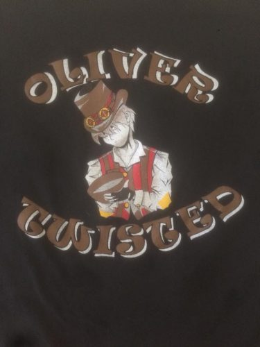 Oliver Twisted Field Show Shirt 2016 SMHS Marching Band