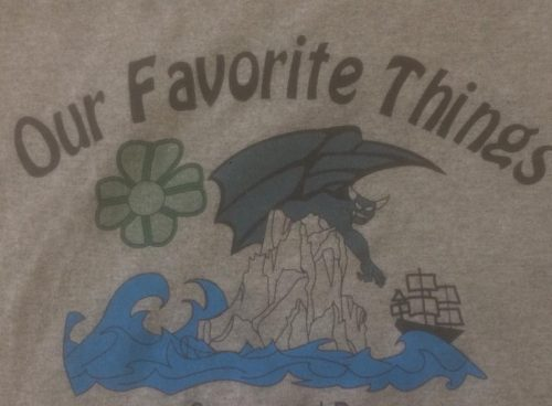 Our Favorite Things Field Show Shirt 2014 SMHS Marching Band